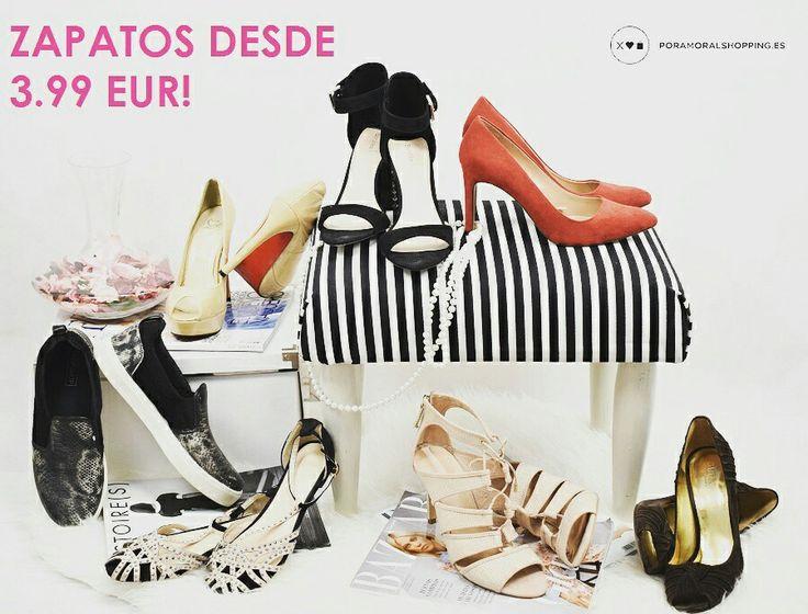 Date un capricho y encuentra tus zapatos ideales desde sólo 3.99€! ❤ Pago 100% seguro | Envíos a toda España por 0.99€ ❤Shop online 👉 poramoralshopping.es  #sneakers #slipon #stilettos #zapatos #zapatosbaratos #peeptoes #nude #zapatosbaratosonline #comprasonline  #ropacasinueva #ropasegundamanoonline #blogger #blogdemoda #ropasegundamanoespaña #ropasegundamanobarcelona #ropasegundamanobcn #poramoralshopping #tiendaonline #ecommerce