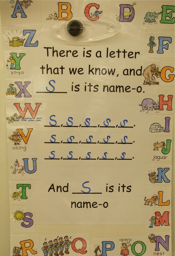 Letter sound song to the tune of Old McDonald - like that you can sing it with the sounds too for the letter