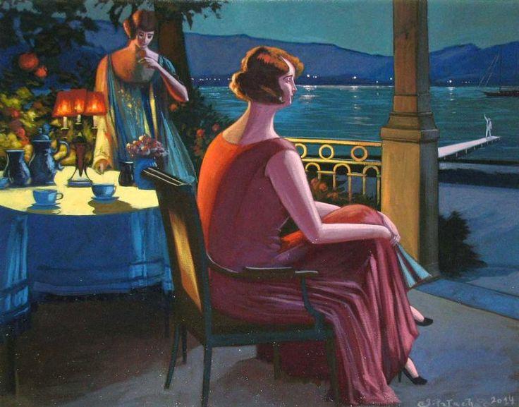 """Jacek PAŁUCHA - """"Victorian Style"""" - Obrazy, malarstwo współczesne, galeria sztuki Bielsko Biała"""