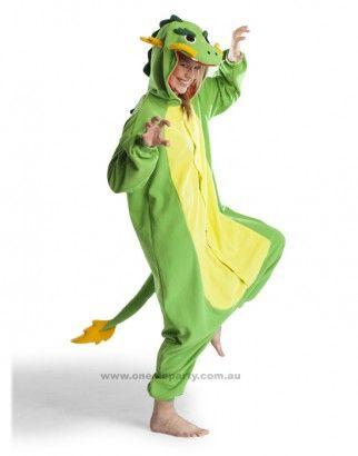 Adult Onesie - Dragon - Kigurumi Costume - Free Delivery