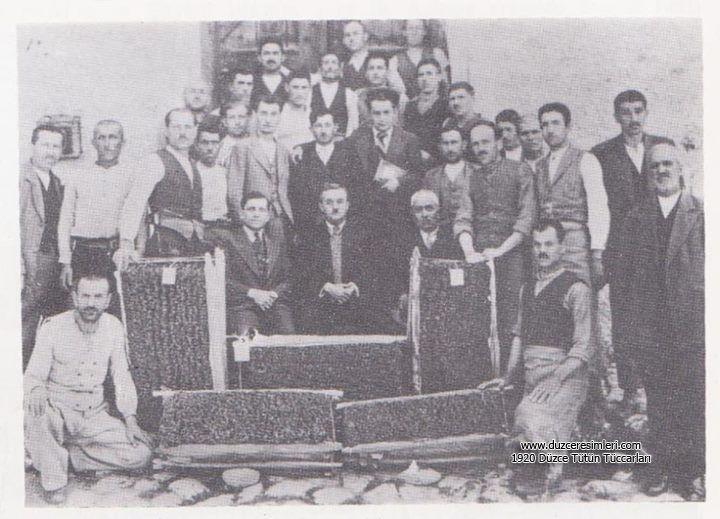 1920 Düzce Tütün Tüccarları