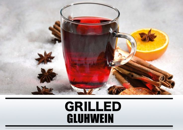 Barbecue recept: grilled gluhwein