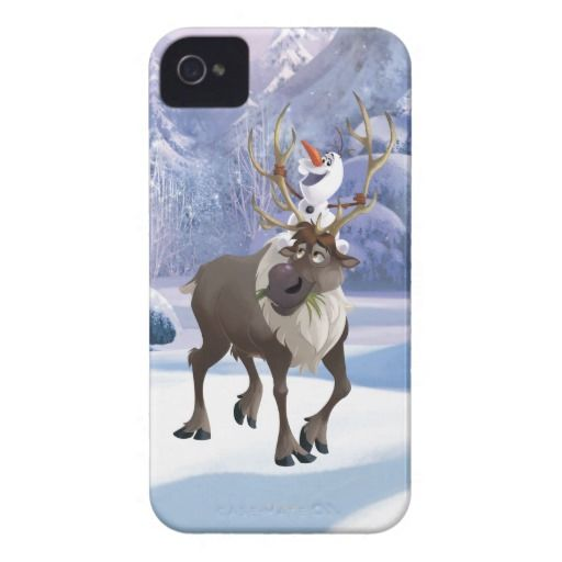 Disney Frozen Olaf and Sven iPhone 4/4S Case. For details or ordering click on the image! More cases on http://www.pinterest.com/erikakaisersot/frozen-electronics-accessories/