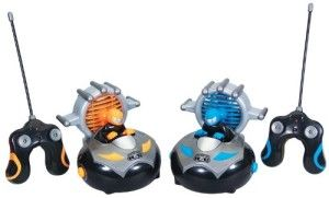 Kid Galaxy: RC Bump 'n Chuck Bumper Cars Hit your opponent's car on either side and send his driver flying. The cars can speed over floors as well as carpet.   http://awsomegadgetsandtoysforgirlsandboys.com/kid-galaxy/ Kid Galaxy: RC Bump 'n Chuck Bumper Cars