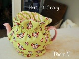 Tea Pot Cozy Tutorial-Need to make one for this kitchen.