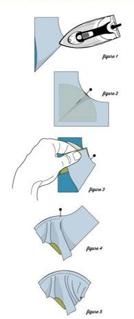 No-stress curved quilt block piecing! This handy tip does the trick.