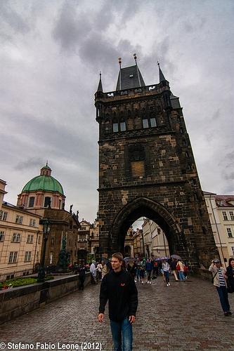 2012 - Praga - Passeggiando sul Ponte Carlo