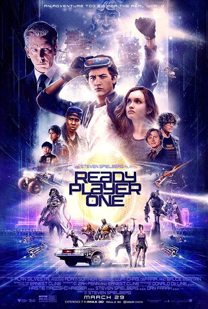 Ready Player One 2018 Pg 13 2h 20min Action Adventure Sci Fi 29 March 2018 Usa When The Creato Ready Player One Movie Ready Player One Player One