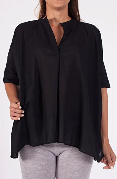 woven cotton freestyle blouse, (available in three shades) $59 www.sassind.com