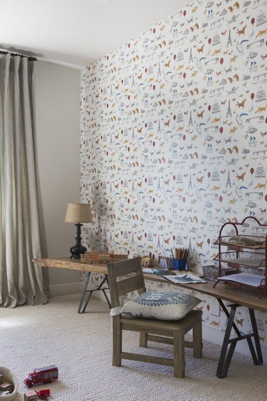 Luca's Playfully Parisian Bedroom — Professional Project