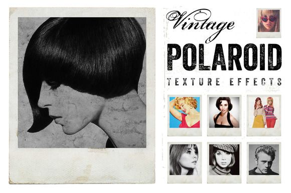 Vintage Polaroid Effects by Offset on Creative Market
