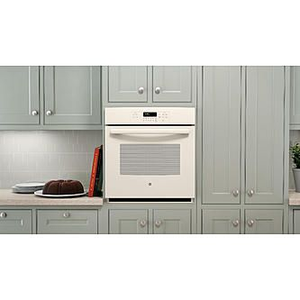 Bisque Appliances With Grey Color