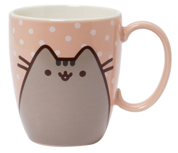 A mug featuring one of the cutest cats in the world (Pusheen).