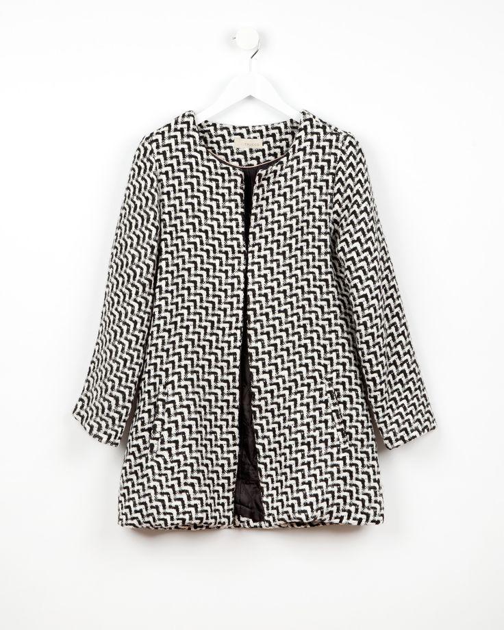 Coat http://bit.ly/1HtKrWU Abrigo punto http://bit.ly/11JnGy7