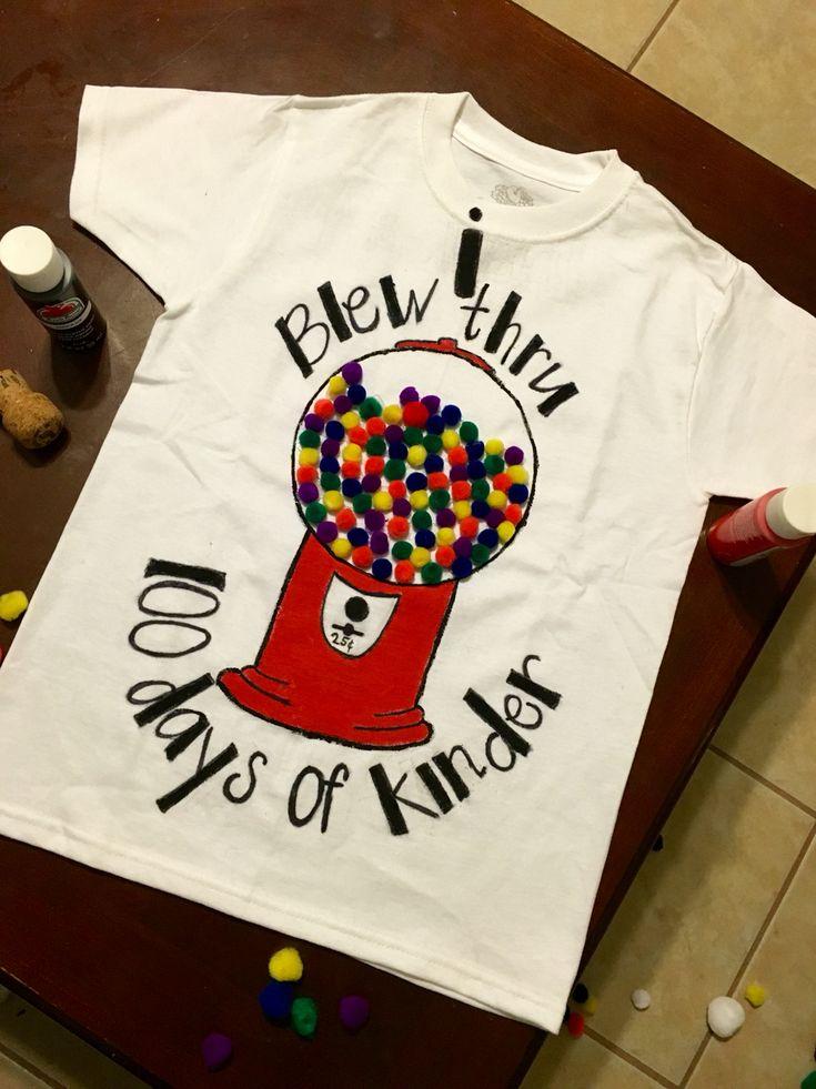 100 day of school shirt.