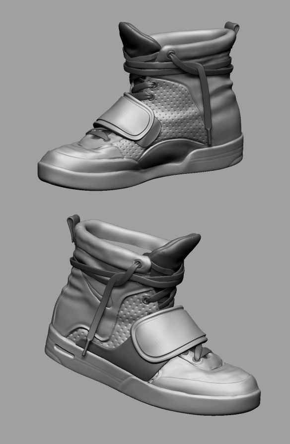 Nikes, Oliver Milas on ArtStation at http://www.artstation.com/artwork/nikes