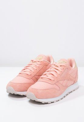 reebok rosa wildleder