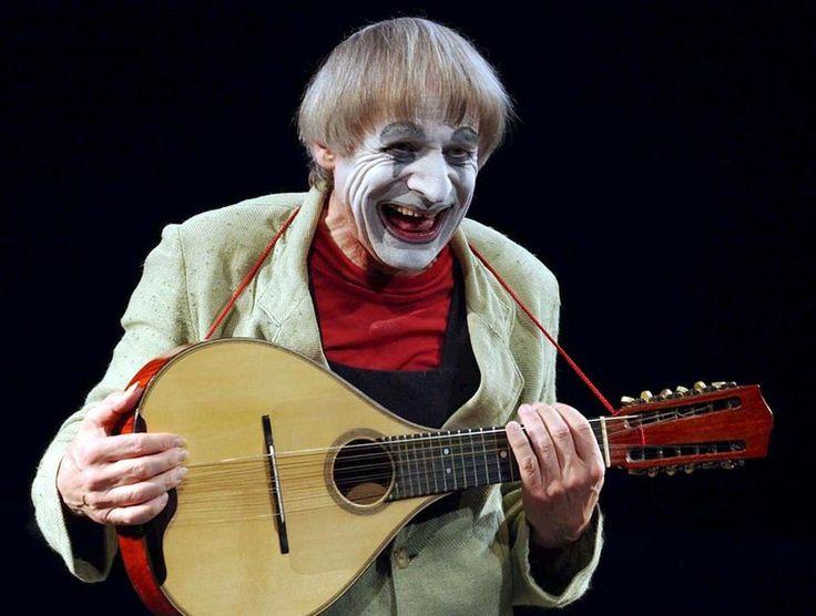Le clown Dimitri. [Walter Bieri - Keystone]