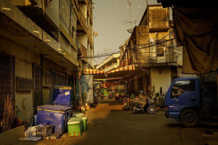 Street Soi in Phitsanulok - Street Soi in Phitsanulok Thailand Asia