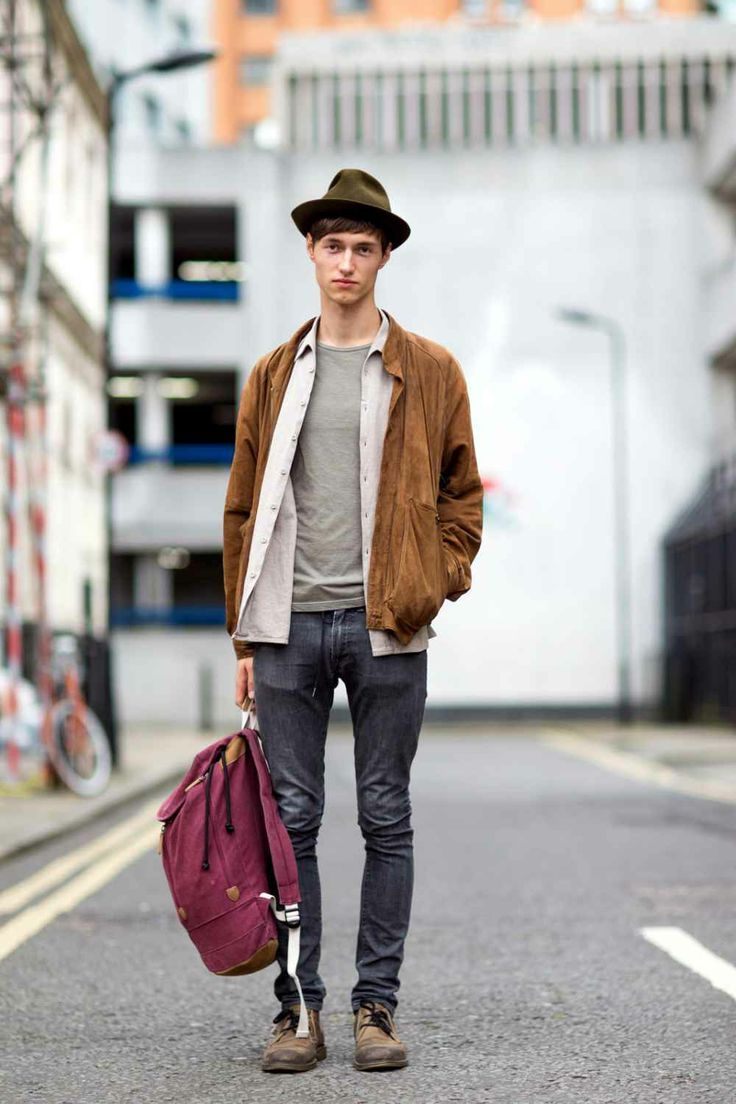 London Collections Men - Street Style Pictures
