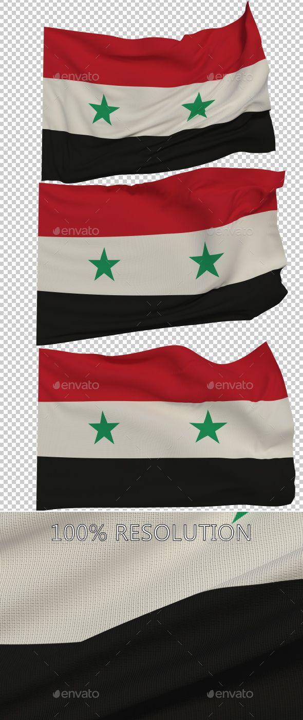 Flag of Syria - 3 Variants