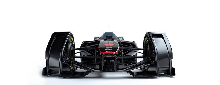 The McLaren MP4-X Concept Is A Radical Vision Of Racing's Future