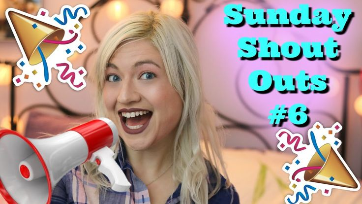 Shout Out Sunday #6 Grow Your Channel and Gain Active Subscribers!