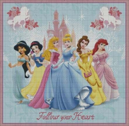 Free Disney Cross Stitch Patterns | Disney Princess Cross Stitch Patterns - smart reviews on cool stuff.