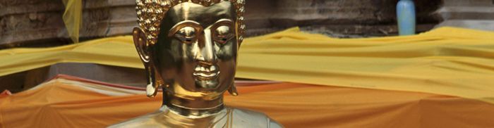 """Most historians agree that Buddhism originated in northern India in the 5th century B.C.E. The tradition traces its origin to Siddhartha Gautama (or Gotama), who is typically referred to as the Buddha (literally the """"Awakened"""" or """"Enlightened One"""")."""