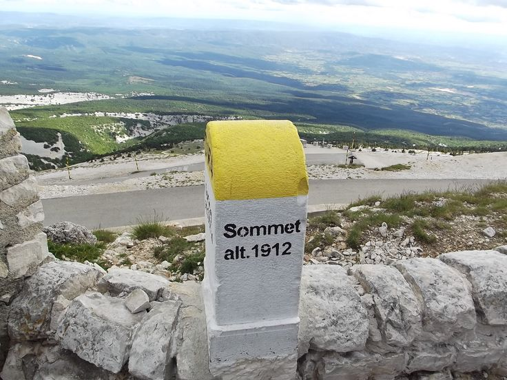 On Mont Ventoux. 11.6.2012