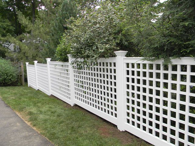 28 Best Pvc Fence Images On Pinterest Vinyl Fencing