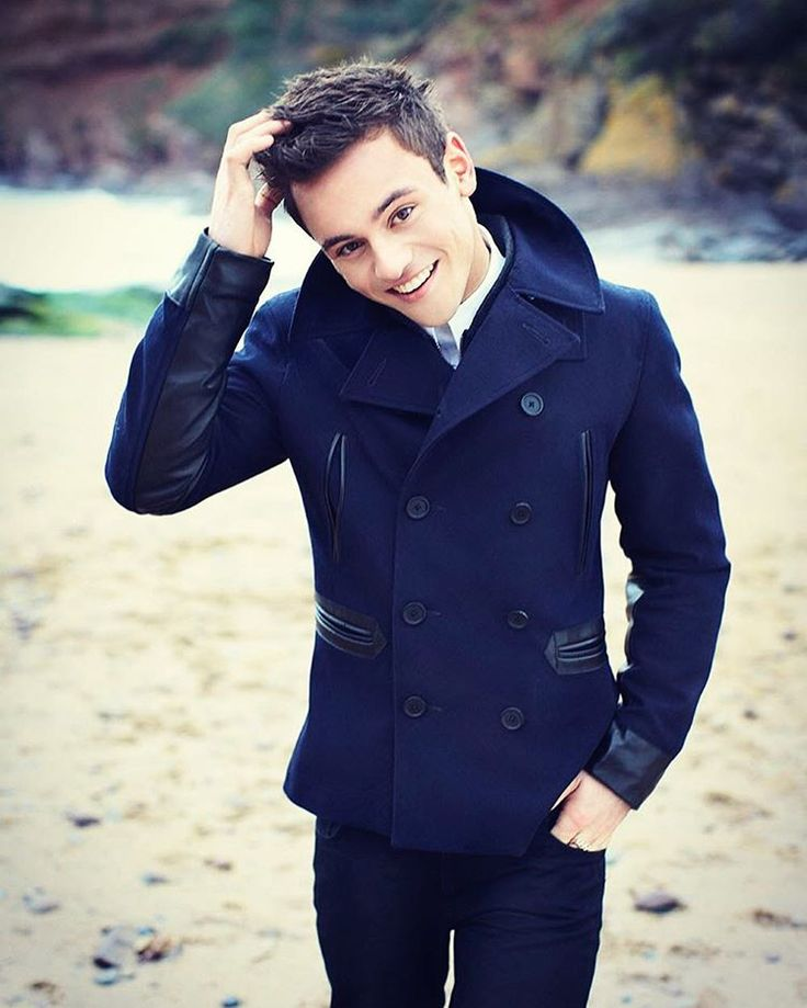 He's so adorable -  #tomdaley #hot #stunning #diver #model #teamdaley #teamtom #gay #lgbtq #warriormonkey