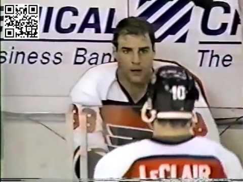Eric Lindros vs Matthew Barnaby (Flyers Feed)