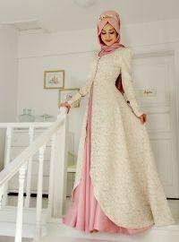 Rose Evening - Green - Muslim Evening Dresses - Modanisa