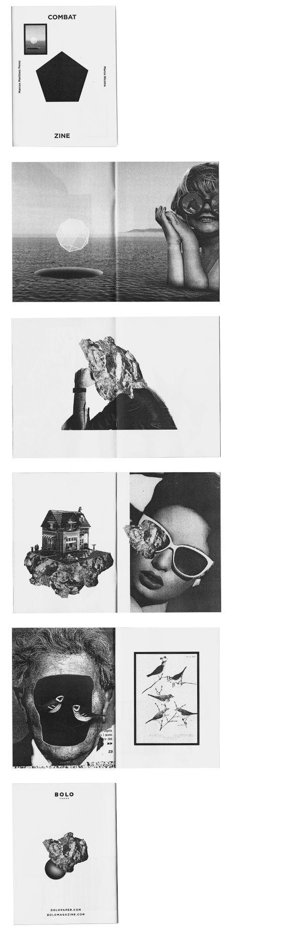 Layout collage design