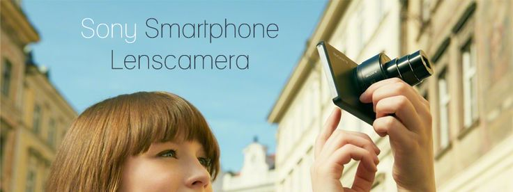 Sony Smartphone Lenscamera