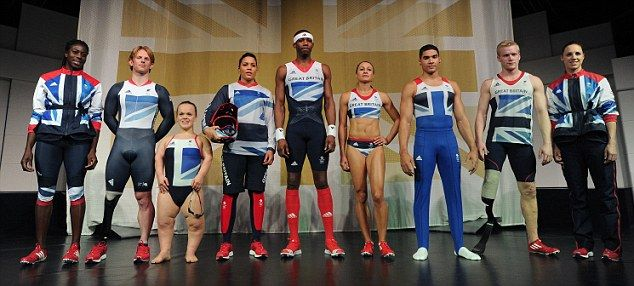 Official olympic kit by Stella McCartney and adidas...