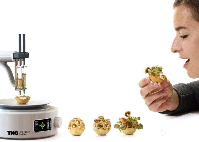 """Impressora 3D é usada para criar """"snacks"""" que prometem acabar com a fome - Tecmundo"""