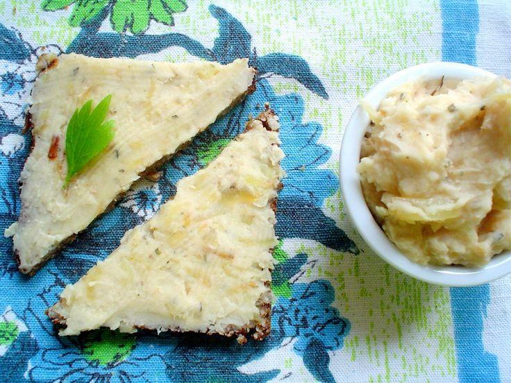 Pasta z białej fasoli (smalec wegetariański)