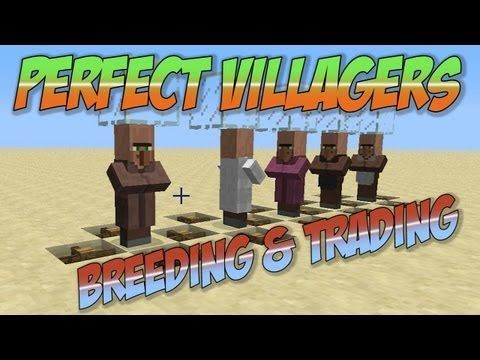 121 best minecraft images on pinterest minecraft stuff minecraft villager trading breeding perfect villagers explained youtube sciox Images