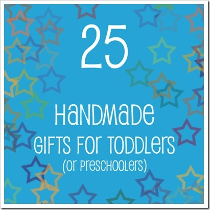 great toddler gift ideas (DIY of course), a cute Christmas tree advent calendar too!