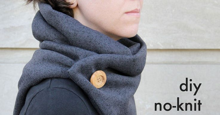 Stay snuggly-warm with this warm no-knit cowl.