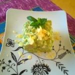 Gnocchi di yogurt e avena con pesto di basilico,tofu e mandorle (Dieta Dukan)