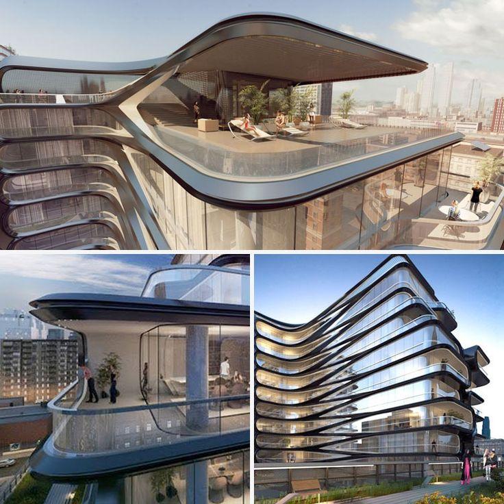 Zaha Hadid Building New York Hadid Zaha Pinned By Www