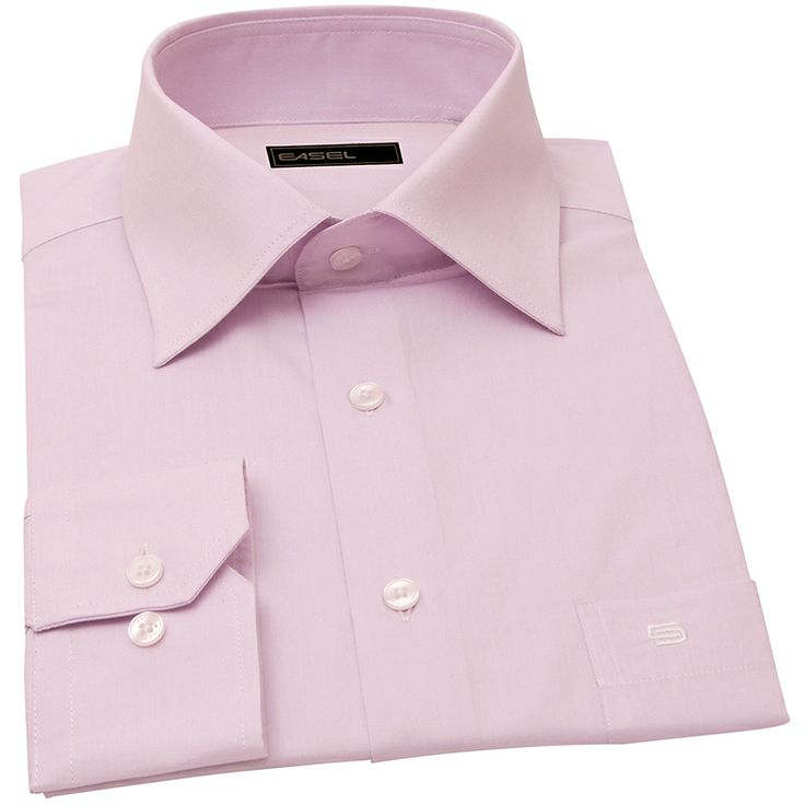 SLEEPLESS IN SEATLE-cloud pink pinpoint oxford shirt