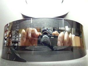 Alien Robot Costume Party Rave Cyclops Futuristic Shield SUN Glasses Mirror Lens | eBay