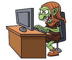 Definición de troll...
