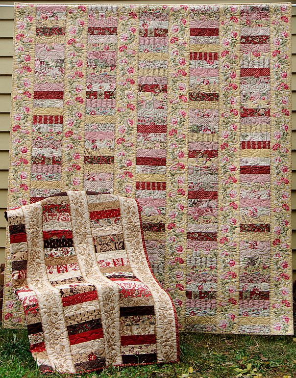 jelly roll quilt patterns | QUILT CRAFT PATTERN - $12.95 : PatternsOnly, Patterns for Quilting ...