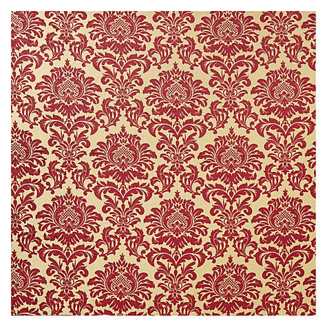 Buy John Lewis Conway Damask Curtain, Maroon, Was £30.00 per metre, Now £15.00 per metre from our Made to Measure Curtains in 7 Days range at John Lewis. Free Delivery on orders over