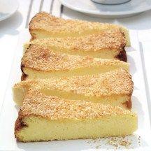 Cheesecake met kokos